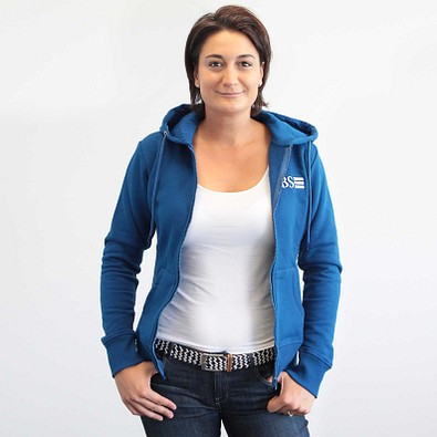 Kapuzen-Sweatjacke Damen XL